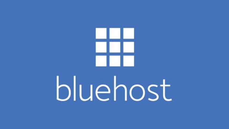 logo del hosting bluehost